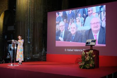 Acto Académico In Memoriam D. Rafael Valencia